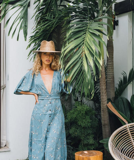 Mimosa  /  Flare Midi Dress