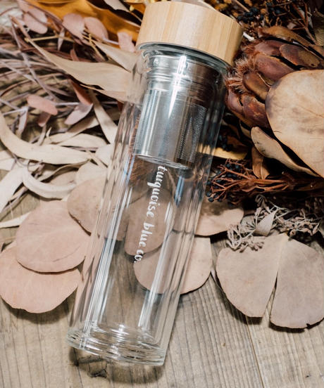 Double-walled Glass Flask 400ml