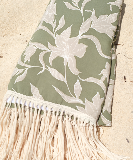 Fringe Beach Towel/Lily