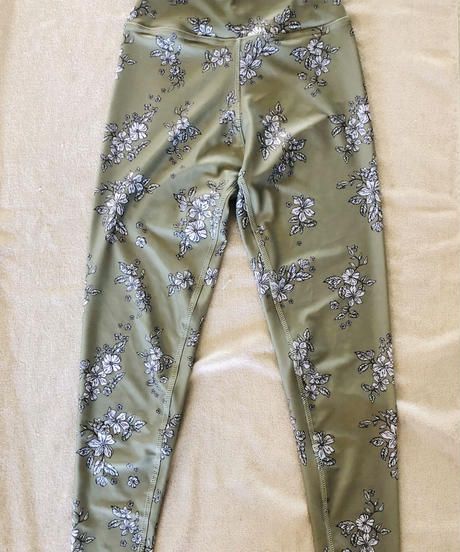 FITNESS WEAR Floral Pants