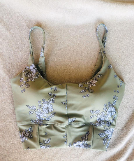 FITNESS WEAR Floral Top