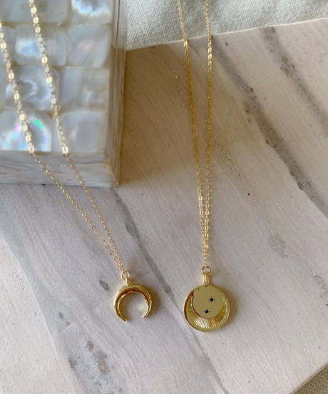 Moon Horn Necklace