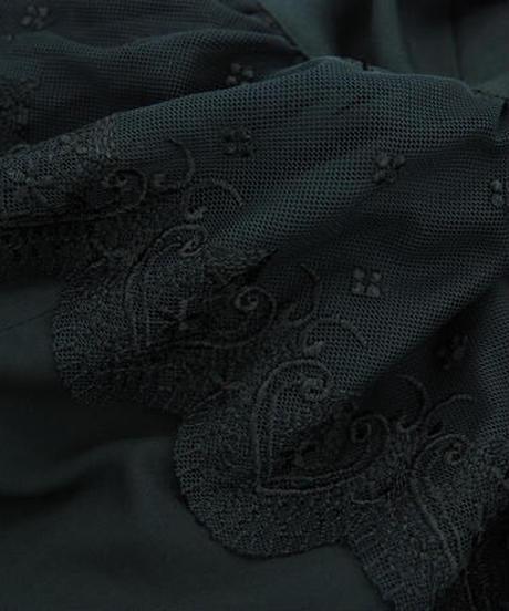 《sheglit》レースフリルマーメイドスカート 318022