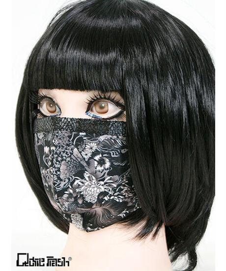 《QutieFrash》ファッションマスク~金魚和柄~ 7828-AC