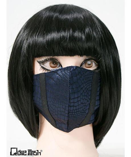 《QutieFrash》ファッションマスク~パイソンサテン~  7827-AC