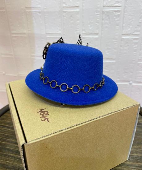 《N845》ミニハット(ブルー)