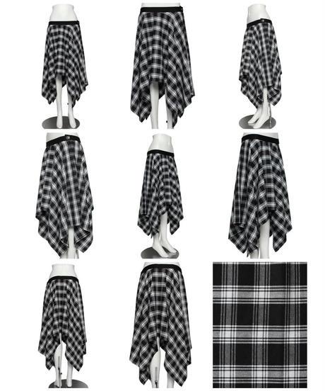 《SEXPOT》PUNKISH ASYMMETRY フレア スカート  SC01136