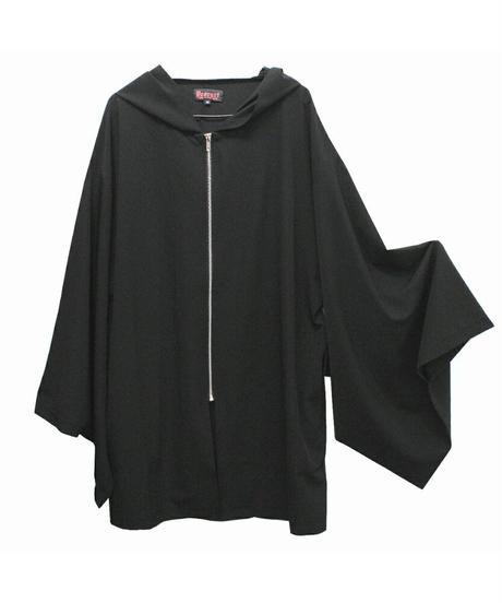 《Deorart》着物袖 ジップアップパーカーカーディガン DRT2545