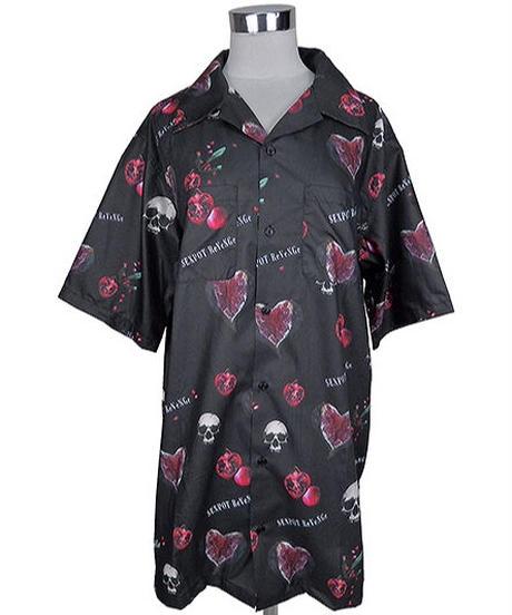 SEXPOT ReVenGe sb01100 SKULL POMEGRANATE フルカラー SUMMER BIGシャツ