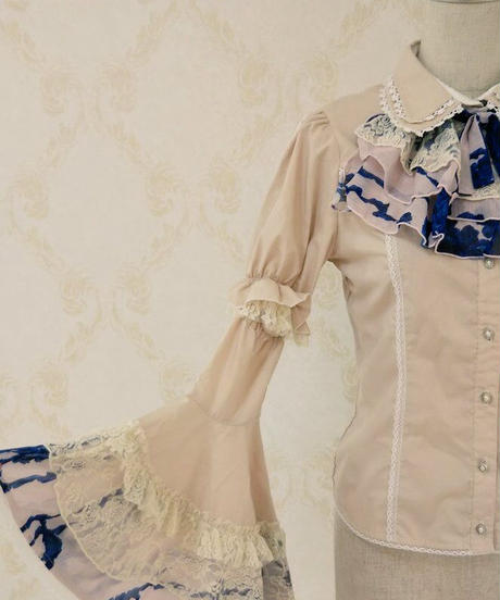 h.NAOTO blouse