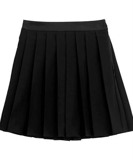 LISTEN FLAVOR 2110407  チュールレイヤードプリーツスカート
