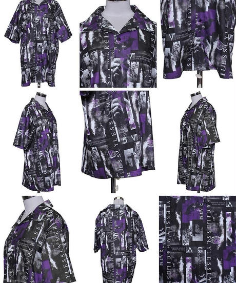 SEXPOT ReVenGe sb01102 UNDER フルカラー SUMMER BIGシャツ