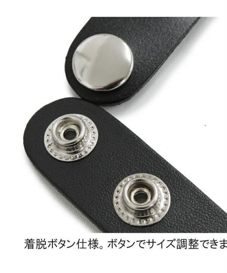 Deorart  BY2098 Ring 3chain choker リング 3連チェーン チョーカー/首輪/丸カン/パンク