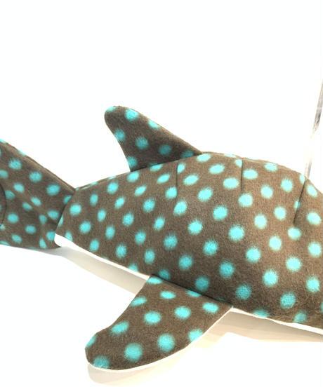 KASEI/カセイ 小サメ ショルダー  フリースVer チョコミント