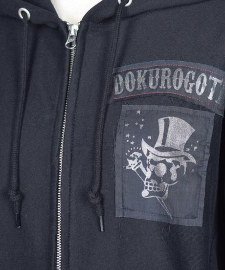 h.NAOTO DOKUROGOTH ZIPPER HOODIE No.003 / L