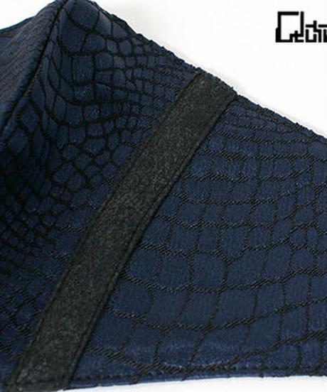 QutieFrash 7827-AC ファッションマスク <パイソンサテン>