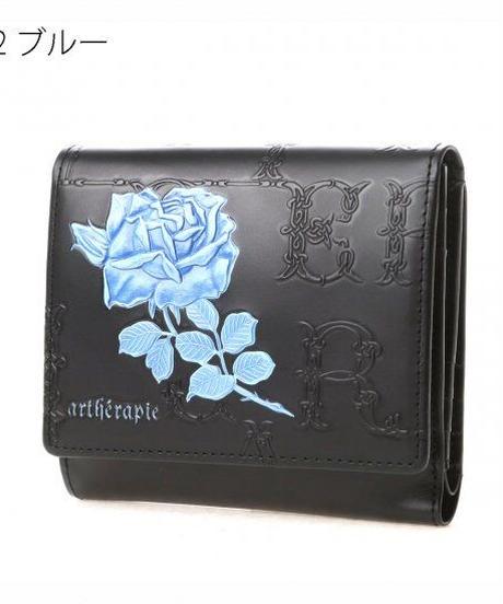 artherapie  230671 フィセルローズ 二つ折り財布 アウトポケット