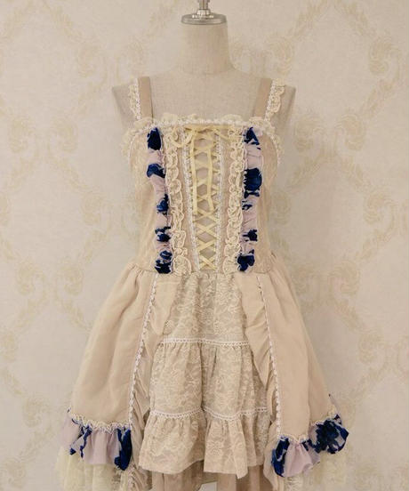 h.NAOTO jumper  skirt
