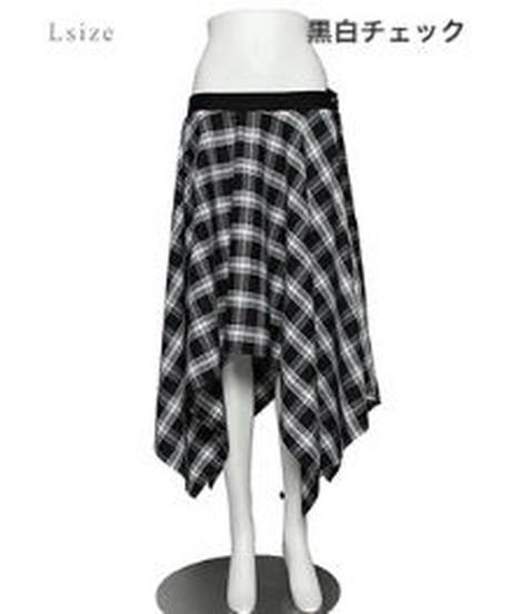 SEXPOT ReVenGe  sc01136 PUNKISH ASYMMETRY フレア スカート