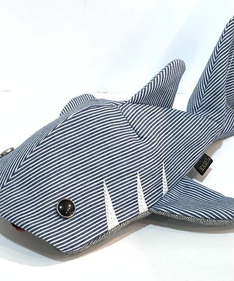 KASEI/カセイ ジーンベイザメシックスプラス シャンブレー/ ヒッコリー