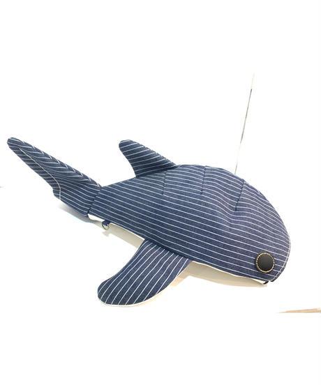KASEI/カセイ 小サメ ショルダー     シャンブレー/ストライプ