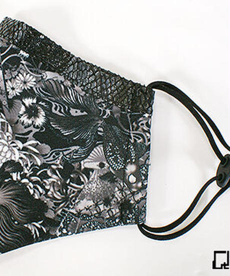 QutieFrash 7828-AC ファッションマスク <金魚和柄>