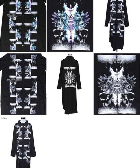 SEXPOT ReVenGe sb02059 RUTHLESS DEED SIDE SLIT ロングシャツ