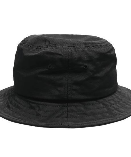 LISTEN FLAVOR   2110506 モルフォ刺繍バケットハット 【BLACK】