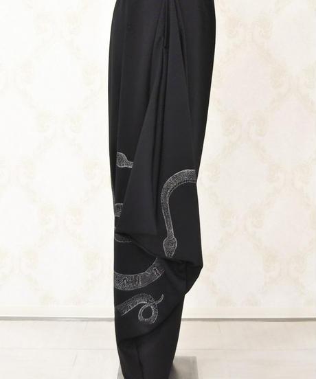 h.NAOTO Spassy Snake Saruel Pants