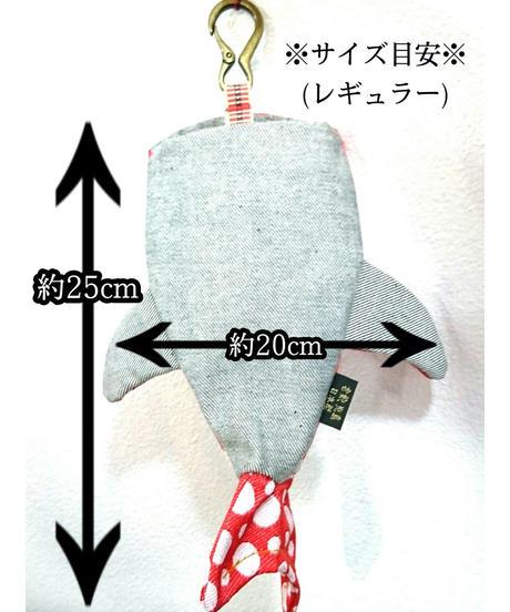 KASEI/カセイ タタミベリザメ(レギュラーサイズ)  松皮菱菊 赤 276