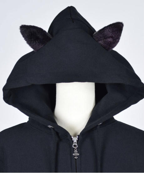 h.NAOTO Devil Cat GUREMU Hoodie