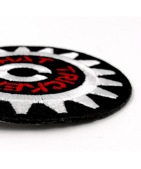 『GEAR』PATCH BLACK x WHITE x RED