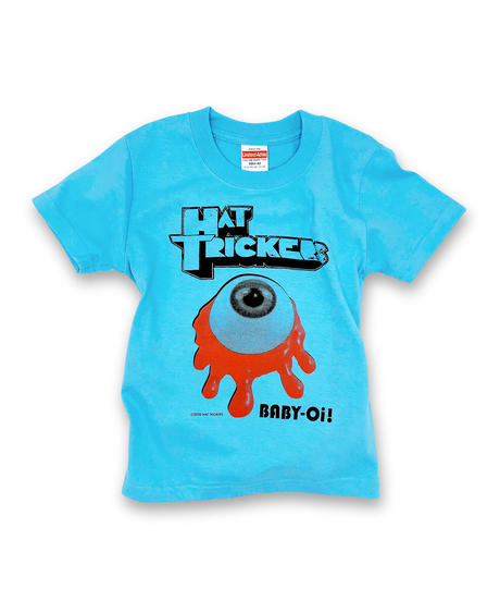 "『KROVVY GRASS』KIDS T-SHIRT""AQUA BLUE"""