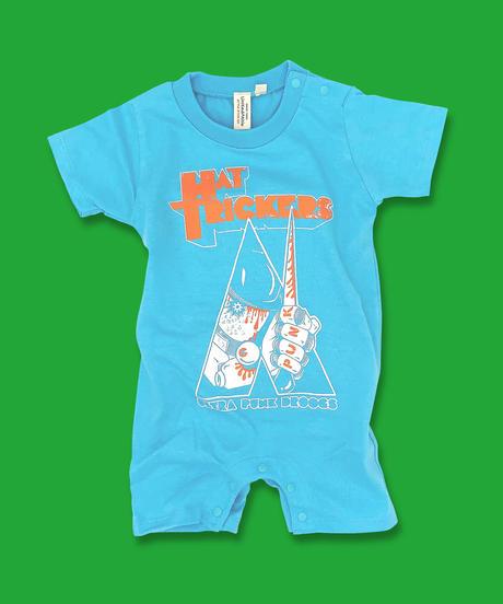 "『ZLEX』BABY ROMPERS""AQUA BLUE"""