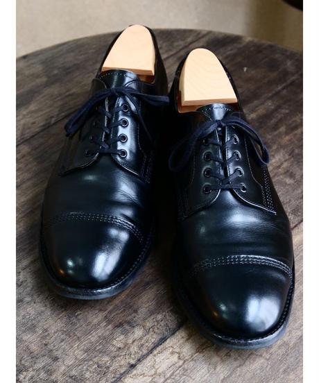 Sanders x UW  / Military Cap Derby Shoes / Black