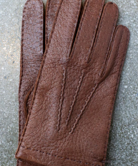 HESTRA / Peccary  Handsewn Unlined