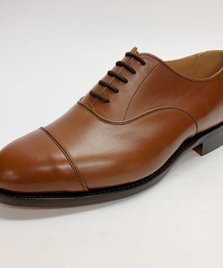 19.13 Rejected Tricker's / Brown / Cap Toe Oxford / Leather  Sole / Size 6H-6Fitting