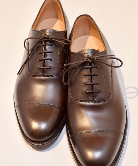 Joseph Cheaney  / DINGLEY /  Cap Toe Shoes / Mocha Burnish