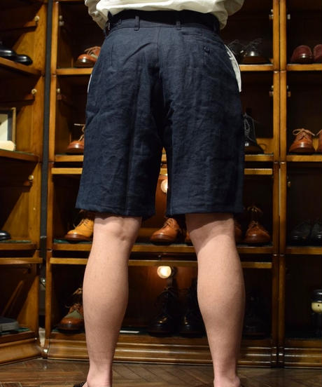 Yarmo / Linen Officer Shorts