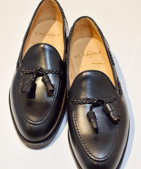 Joseph Cheaney  / HUGH /  Tassel Slip On Shoes / Black