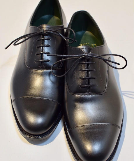 Joseph Cheaney  / DINGLEY /  Cap Toe Shoes / Black