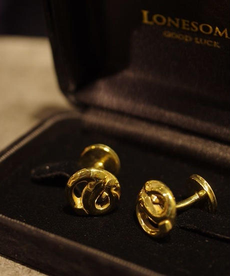 LONESOME / R.S Cufflinks / Brass