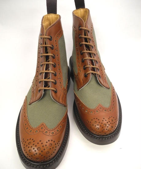 Tricker's × UW / Country Brogue Boots / Combi