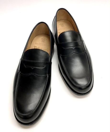 19.28 Rejected Tricker's / Black / Loafers / Leather  Sole / Size 8