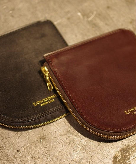LONESOME / UK Bridle Leather / Short Wallet