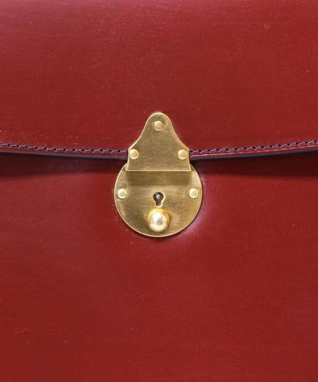 Rutherfords / Folio Case with 808 Lock / Chestnut