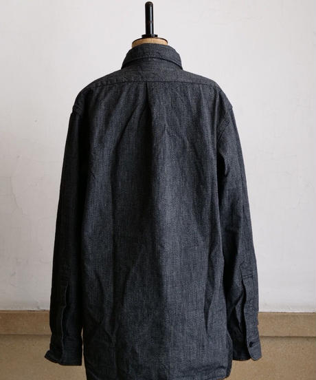 BONCOURA / Black Chambray Shirt  (UNION WORKS LIMITED)