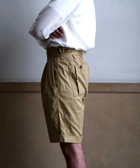 Soundman / Gurkha Shorts / KhakiBeige
