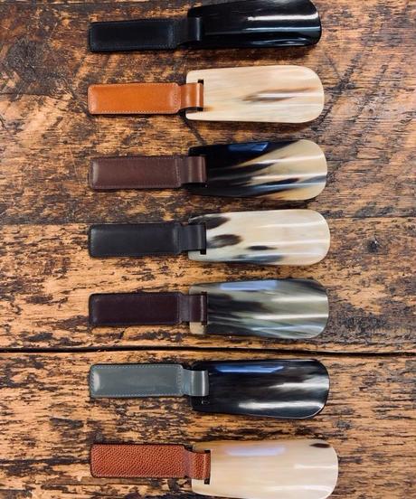 John Lobb London Folding Shoe Horn / Calf