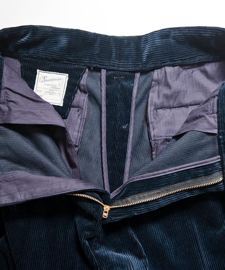 Soundman / Corduroy  Pants / Navy